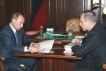 Владимир Путин и Сергей Морозов. Встреча состоялась.